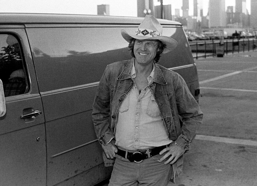 Billy Joe Shaver at Chicago's Wise Fool's Pub in 1980.