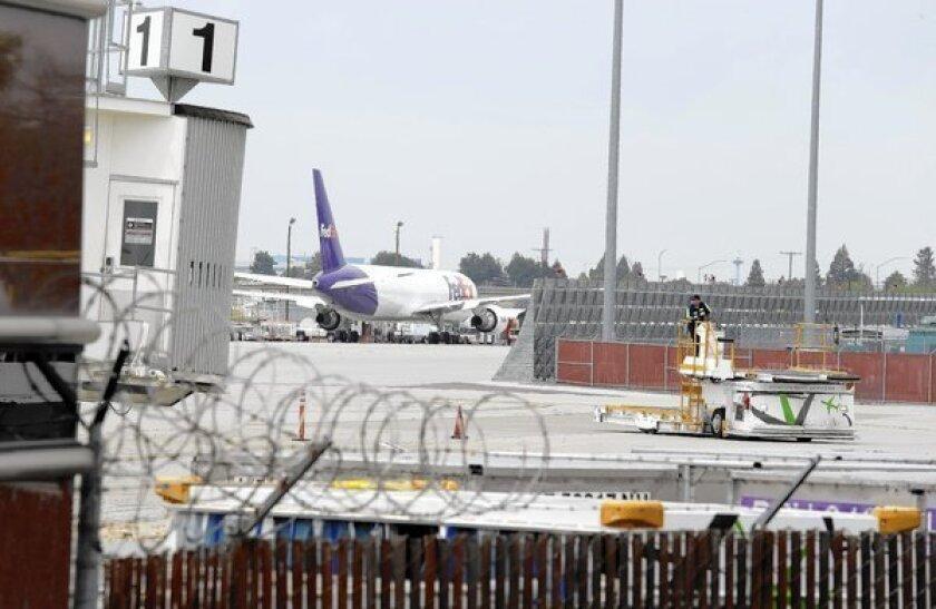 Mineta San Jose International Airport in California.