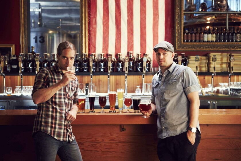 "In ""Brew Dogs,"" James Watt and Martin Dickie travel to a new American craft beer destination to produce a brew that captures the essence of the showcased city."