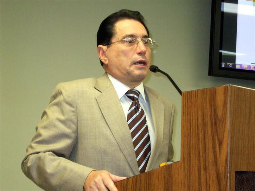 El presidente de la Universidad Interamericana de Puerto Rico, Manuel J. Fernós, anunció hoy que no habrá aumento de matrícula para este próximo año académico en los programas subgraduados y graduados de los nueve recintos del sistema. EFE/Archivo
