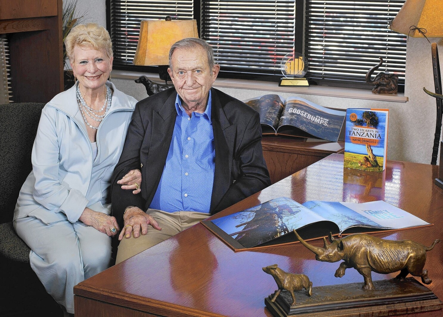 Dick Cabela Dies At 77 Co Founded Cabela S Sporting Goods Empire Los Angeles Times