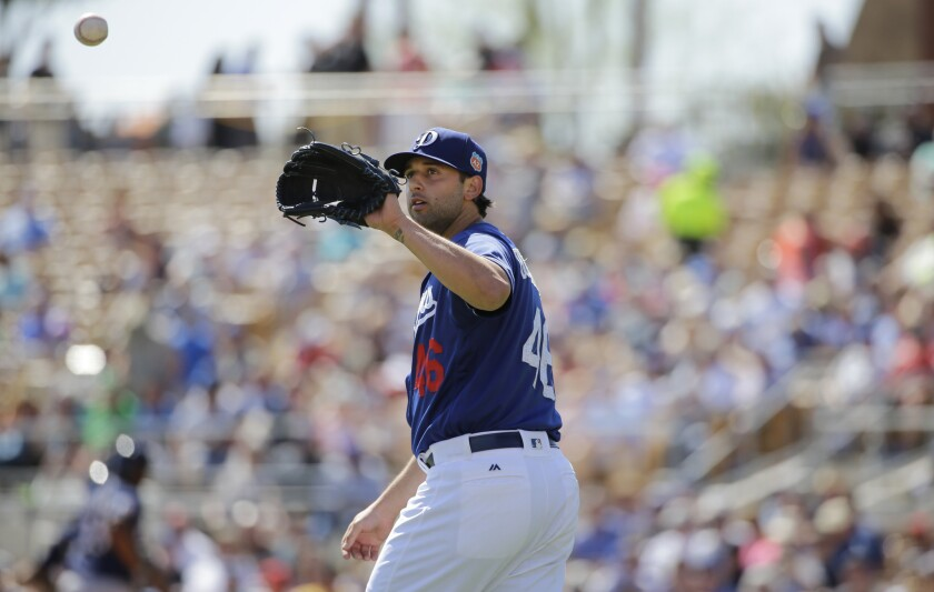 Mike Bolsinger set to become the Dodgers' fifth starter