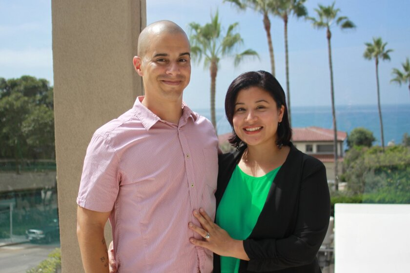 Relationship coach Michelle Galarza (with her husband, Leo) will lead a class about dating for senior citizens sept. 24 at the La Jolla Community Center.