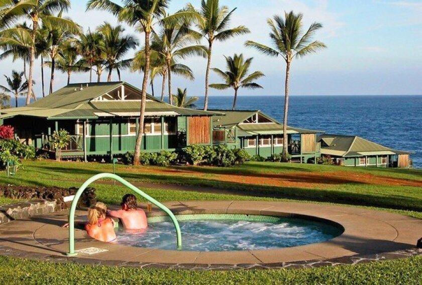 The Travaasa Hana, the former Hotel Hana Maui, has many of the amenities of a luxury resort.