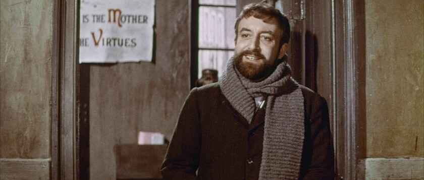 """Peter Sellers in the 1961 movie """"Mr. Topaze."""""""