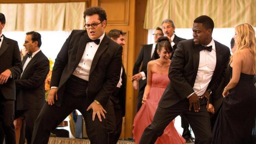 "Josh Gad, left, and Kevin Hart in Screen Gems' ""The Weddidng Ringer."" Photo by Matt Kennedy (Matt Kennedy)"