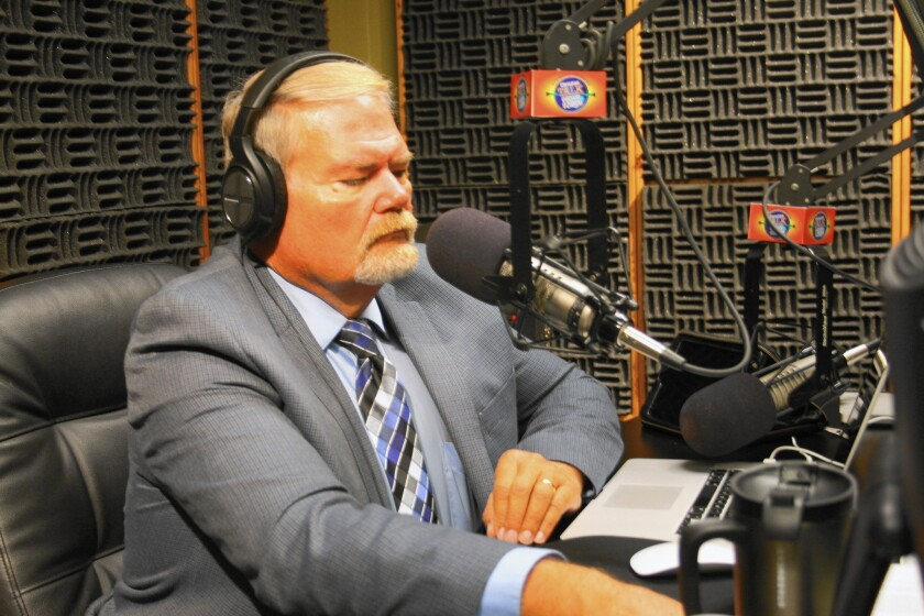 Conservative radio host Tony Beam says his phone lines light up when the topic is immigration.