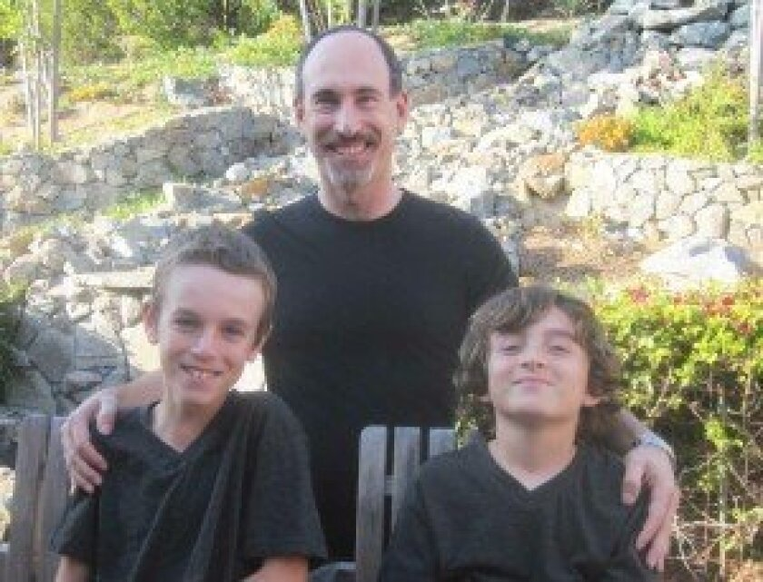 L-R: Josh Herz, Henry Herz and Harrison Herz. Courtesy photo