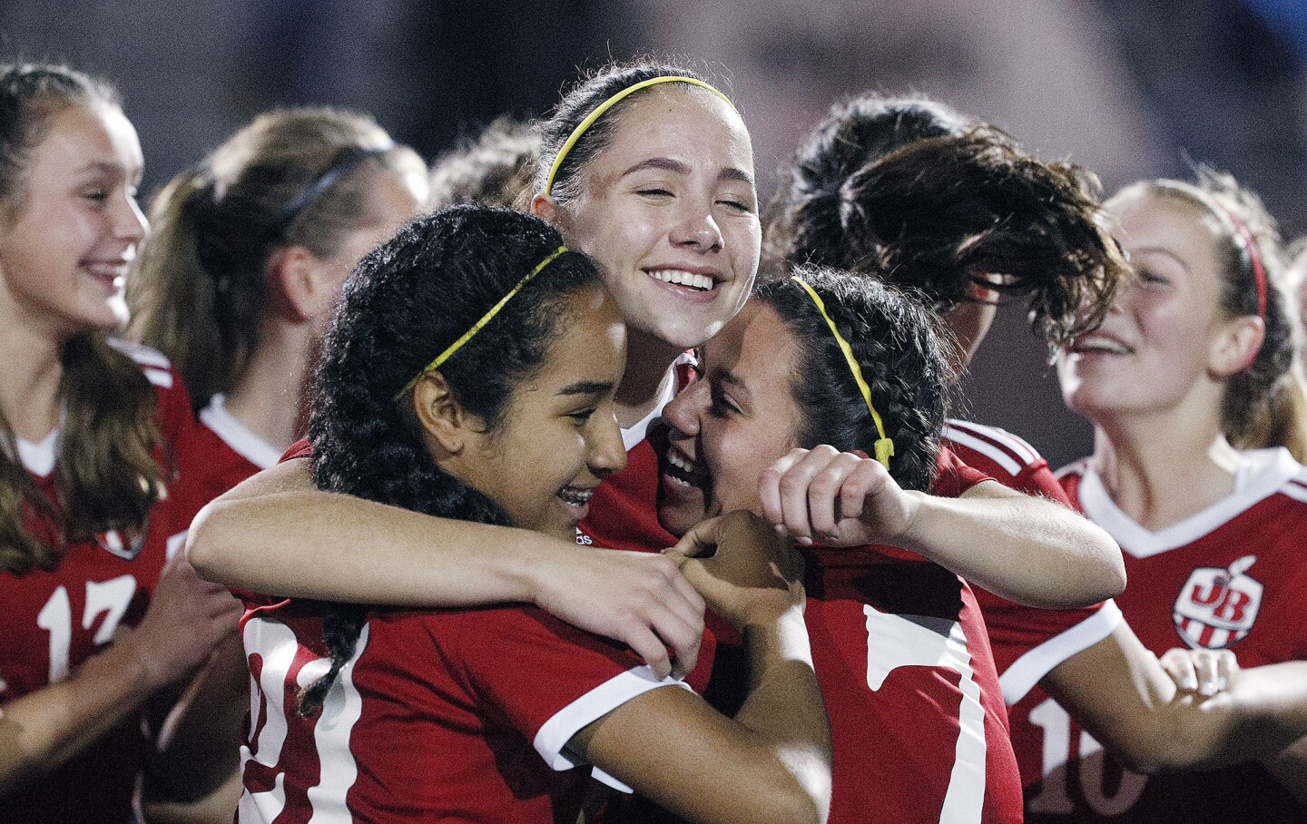 Photo Gallery: Burroughs girls' soccer wins Pacific League title by defeating Burbank in rival game
