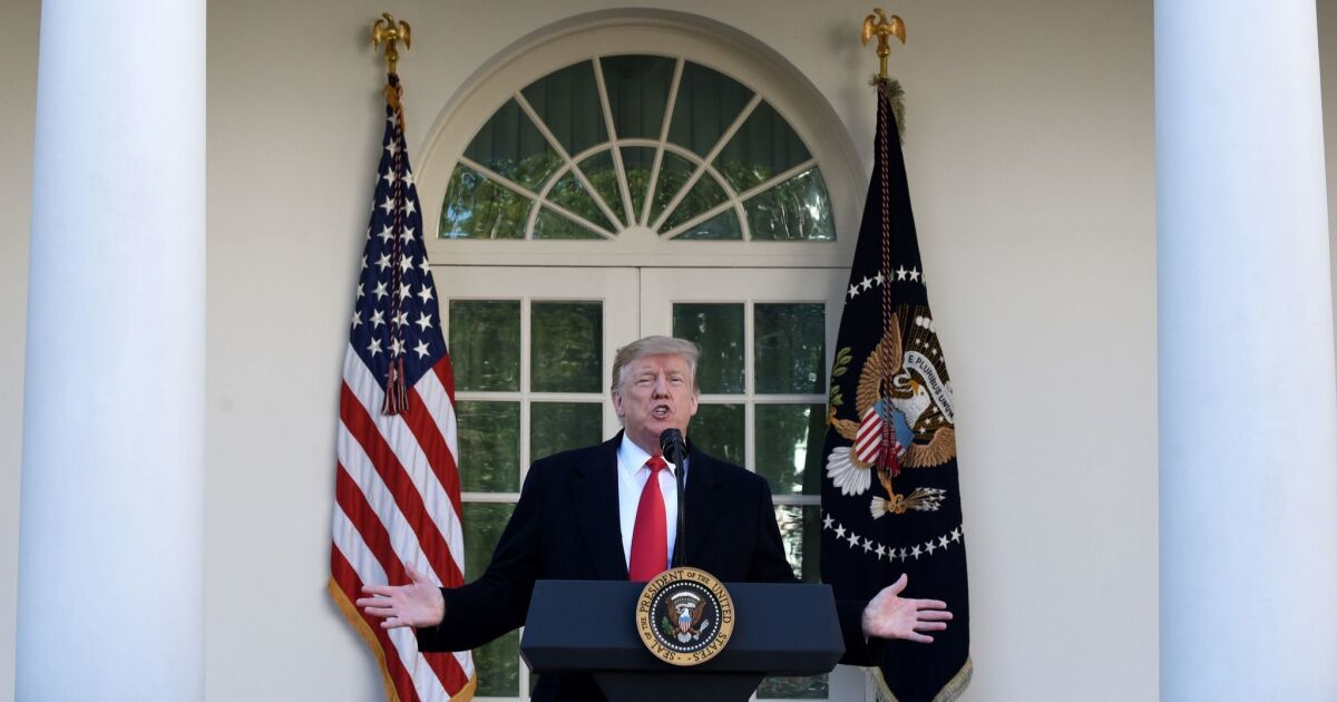 Editorial: The problem with Trump's 'national emergency' plan is much bigger than any wall