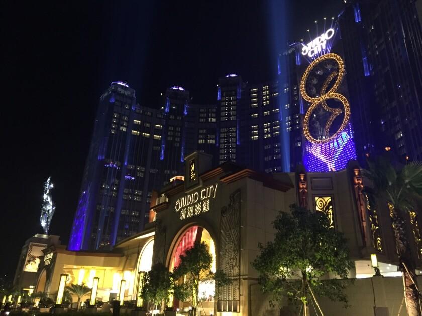 Studio City casino resort in Macau, China