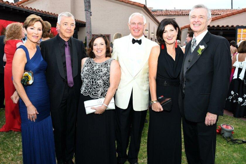 Sue and Peter Wagener, Annette and Daniel Bradbury, Jena and Robert Joyce