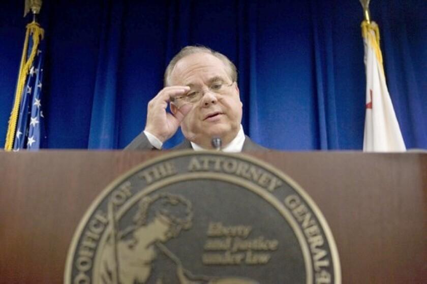 Former California Atty. Gen. Bill Lockyer