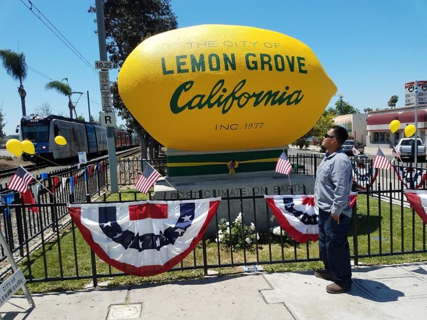 A Lemon Grove Town Hall is set for Feb. 12 at the Lemon Grove Academy Middle School's auditorium.