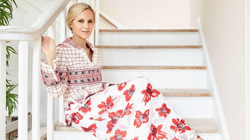 Seasonal look of designer and businesswoman Tory Burch.