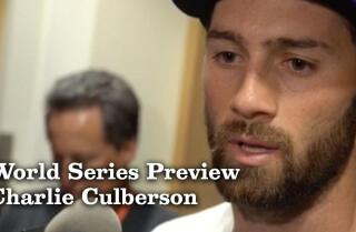 Charlie Culberson on his preparations for the World Series