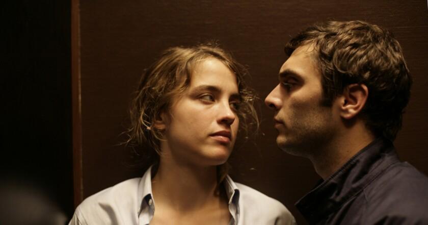"Adele Haenel and Pio Marmai in ""Aliyah."""