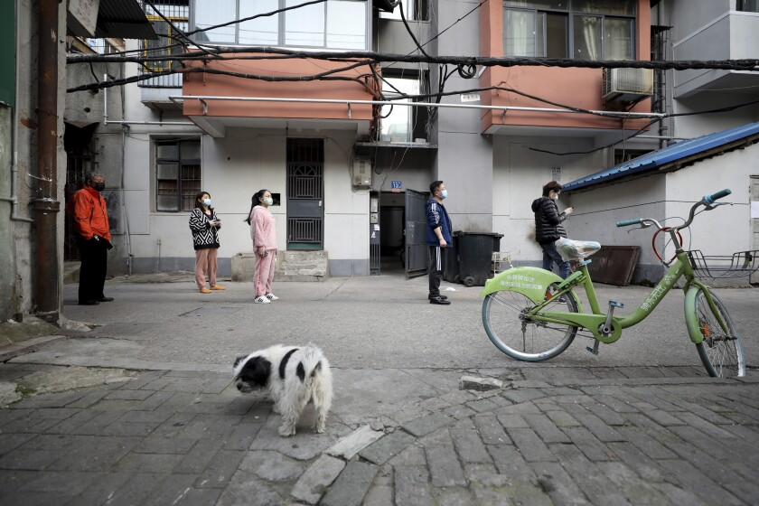 Wuhan, China, residents