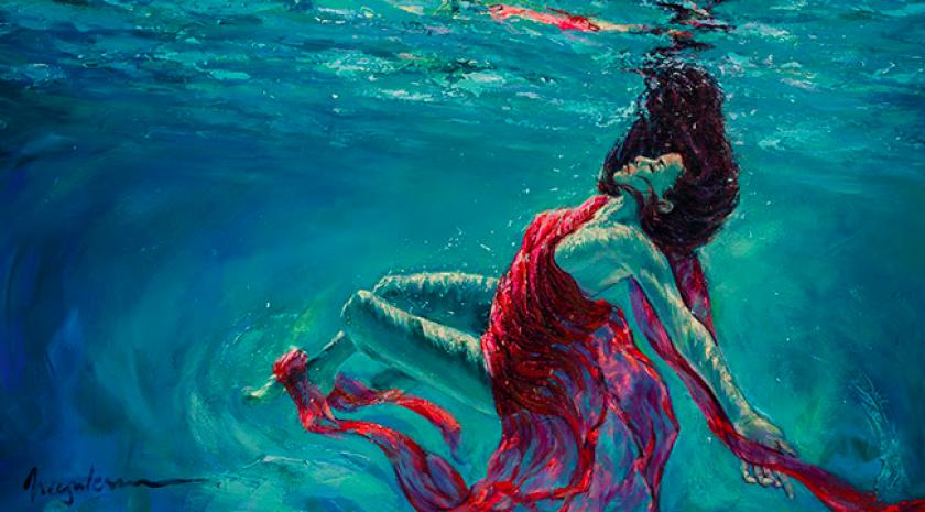 Aquatic Dance II by Irina Negulescu.