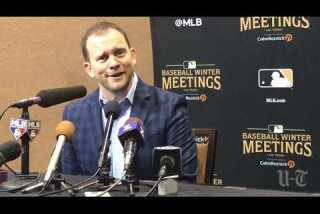Padres manager Andy Green at the Winter Meetings