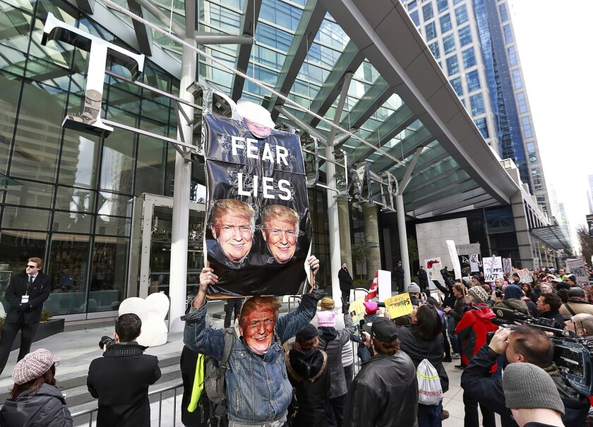 Vancouver Trump Tower opening