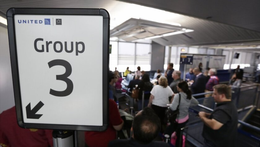 Another reason to avoid United Airlines: Its dopey boarding procedure