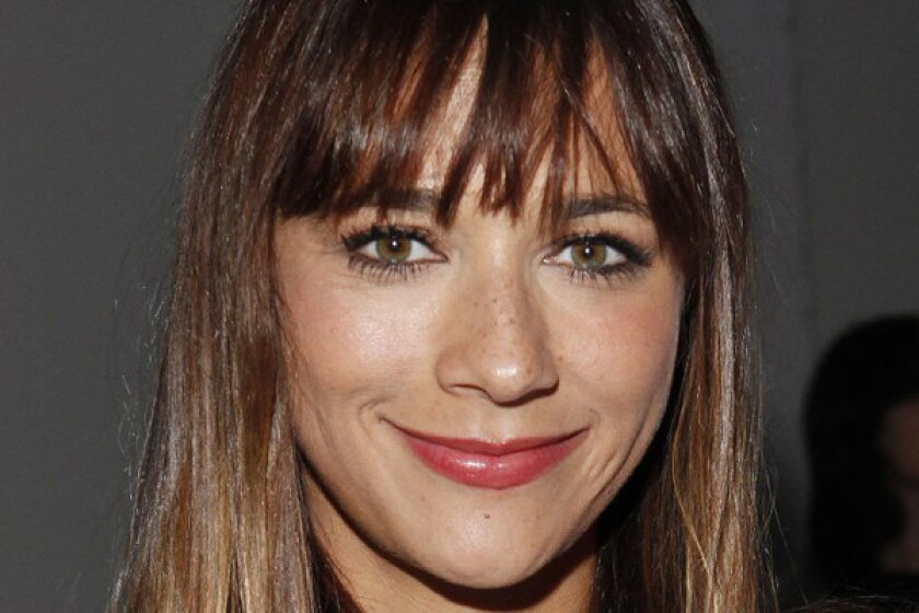 """""""Parks and Recreation"""" star Rashida Jones, daughter of music producer Quincy Jones and actress Peggy Lipton, shared some thoughts about female celebrities baring maybe too much."""
