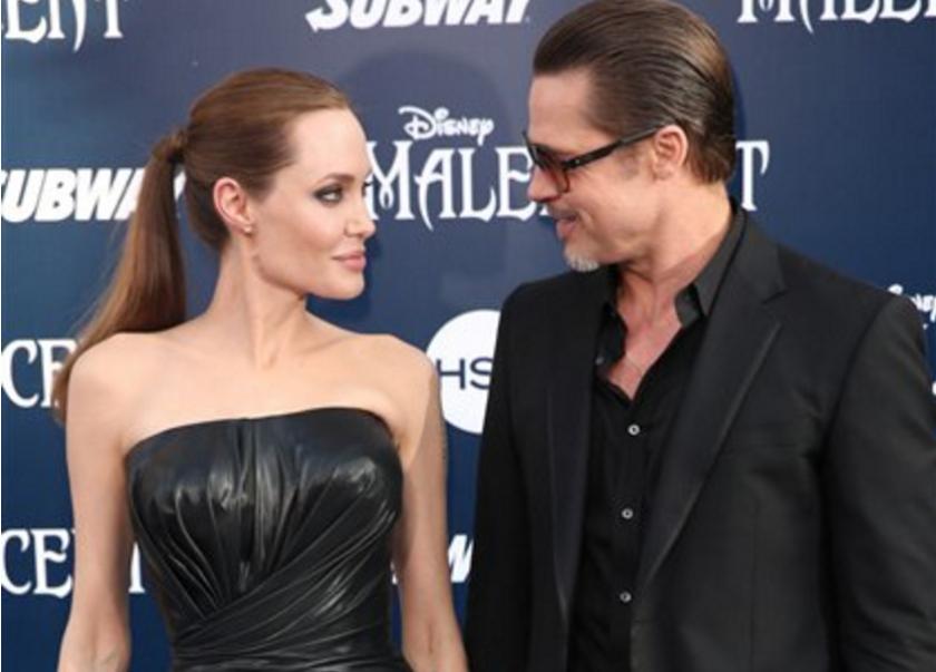 Angelina Jolie y Brad Pit (Foto por Matt Sayles/Invision/AP, Archivo)