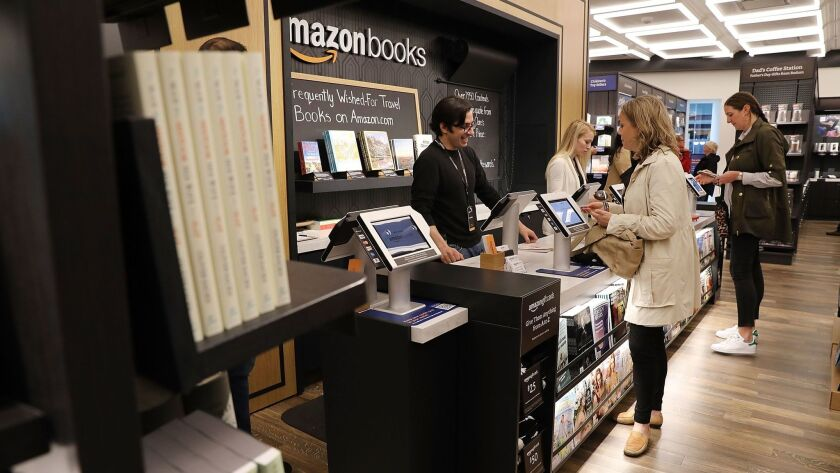 Amazon Opens Bookstore In New York City
