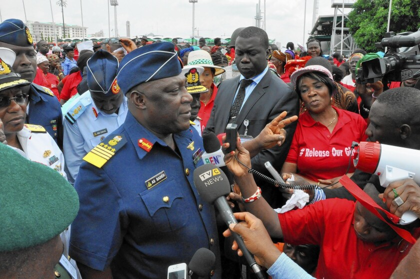 Nigerian Air Marshal Alex Badeh