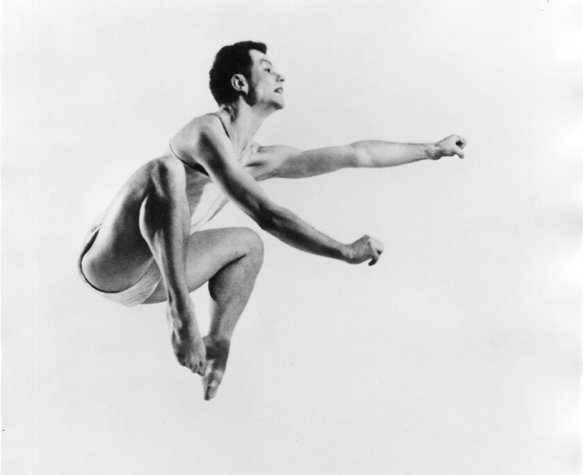 """Legendary dancer and choreographer Merce Cunningham is remembered in """"Night of 100 Solos: A Centennial Event"""" at UCLA's Royce Hall."""