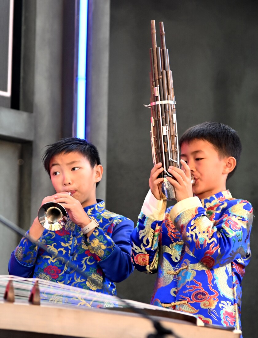 A Little Dynasty Chinese School Chinese Children's Orchestra