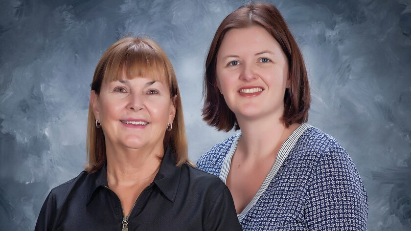 Mother and daughter Sue Erskine and Tricia Izadi founded Seniors Helping Seniors in 2013. For more information, call (800) 481-2488 or visit homecarebyseniors.com