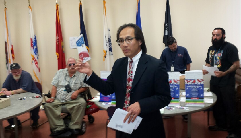 San Diego County Registrar of Voters Michael Vu.