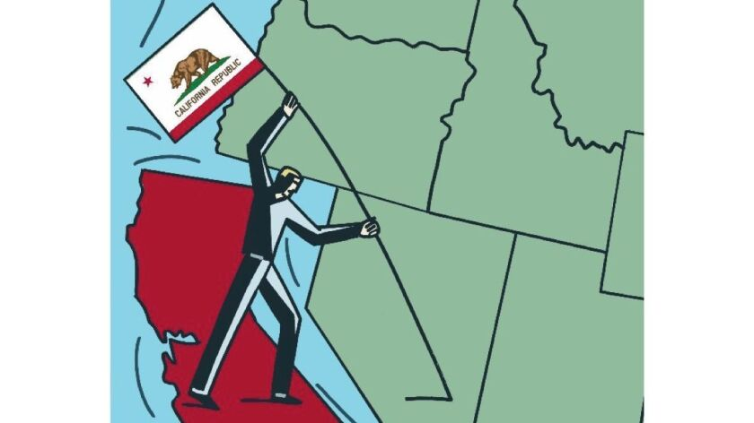 "A petition for a ""Calexit"" vote would begin the long, multi-step process for withdrawing California from the United States."