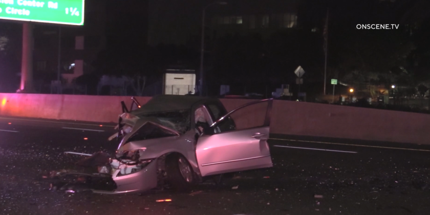A head-on collision involving a wrong-way driver early Sunday left one motorist dead, the California Highway Patrol said.