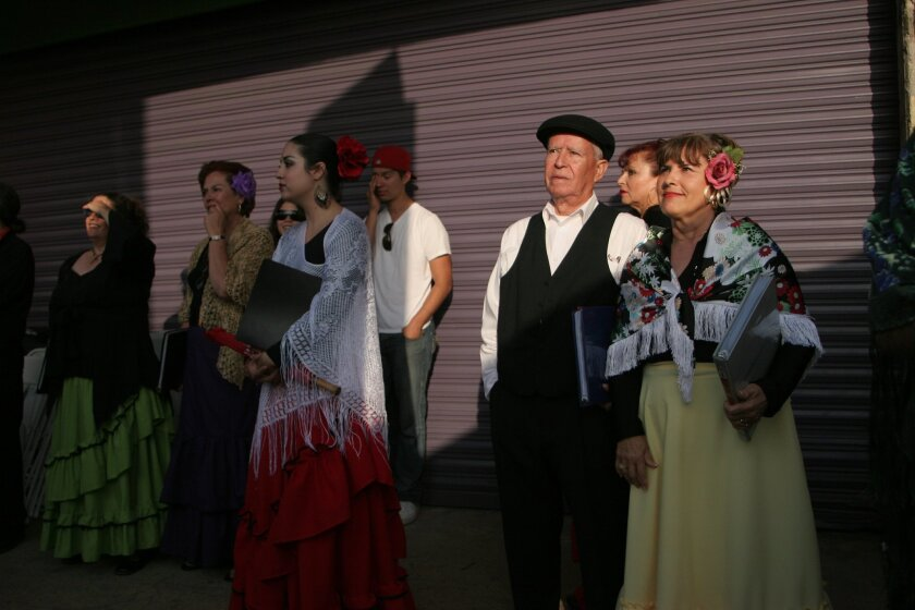 A previous scene from Opera en La Calle, Tijuana's annual Street Opera Festival, to be held this year on Saturday, July 13.