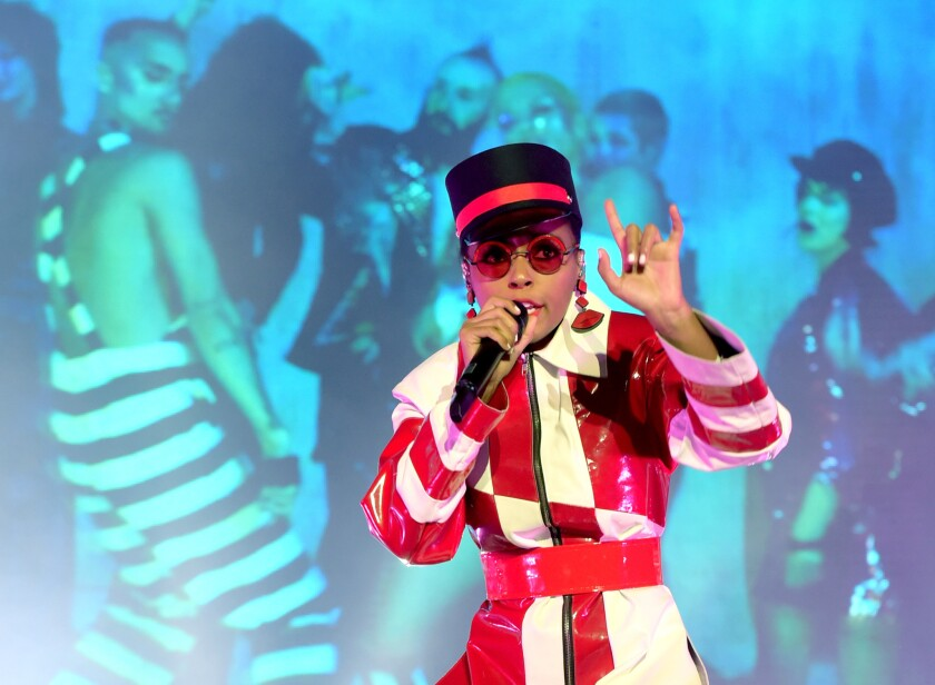 Janelle Monae Performs At The Greek Theatre