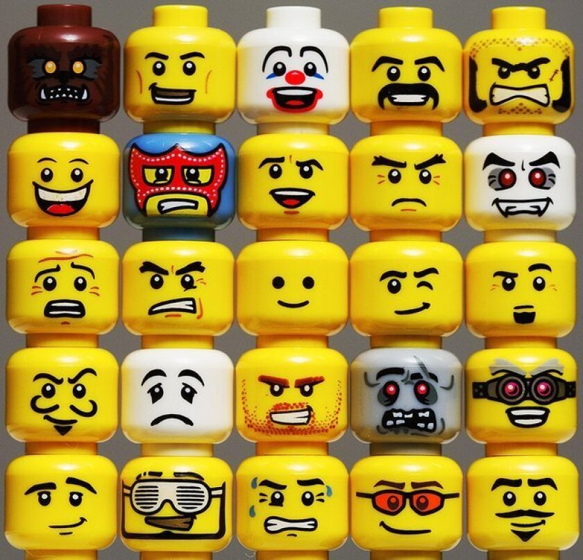 The many faces of LEGO