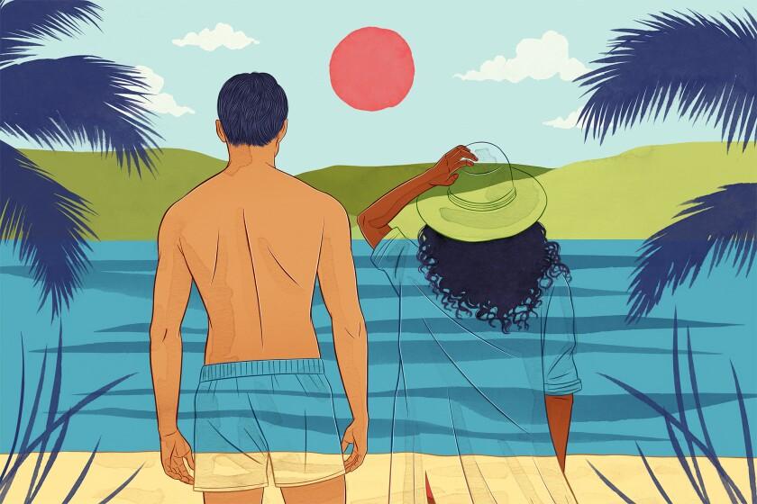 Illustration for la-tr-travel-near-wanderlust-trips by Stephanie Singleton For The Times.