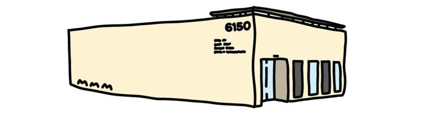 Illustration of 6150, boul.  Wilshire.