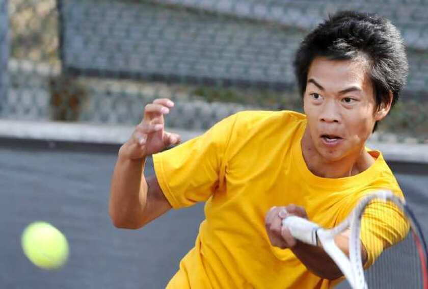 Glendale Community College mens' tennis team tops Santa Barbara