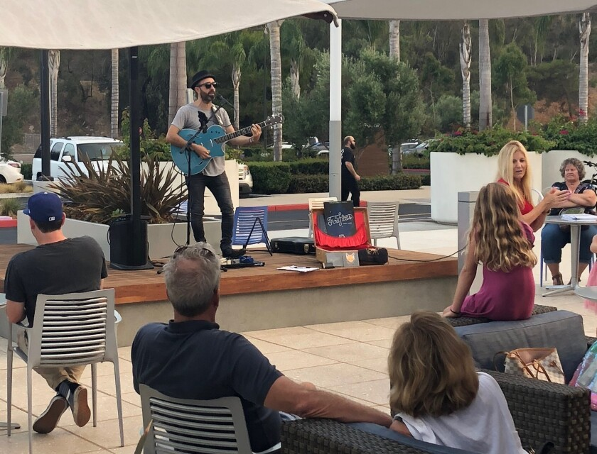 """The Shoppes at Carlsbad brings back """"Music at the Shoppes"""" from 5-8 p.m. Saturdays in March."""
