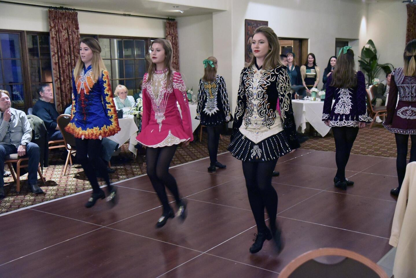 Clan Rince Irish Dance Studio performers