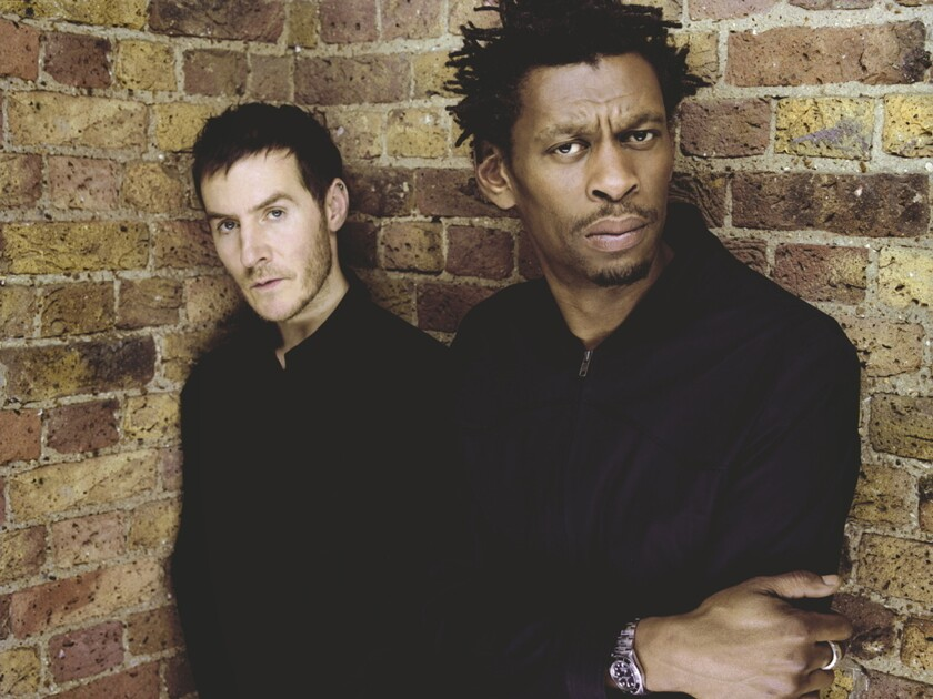 A photo of Massive Attack