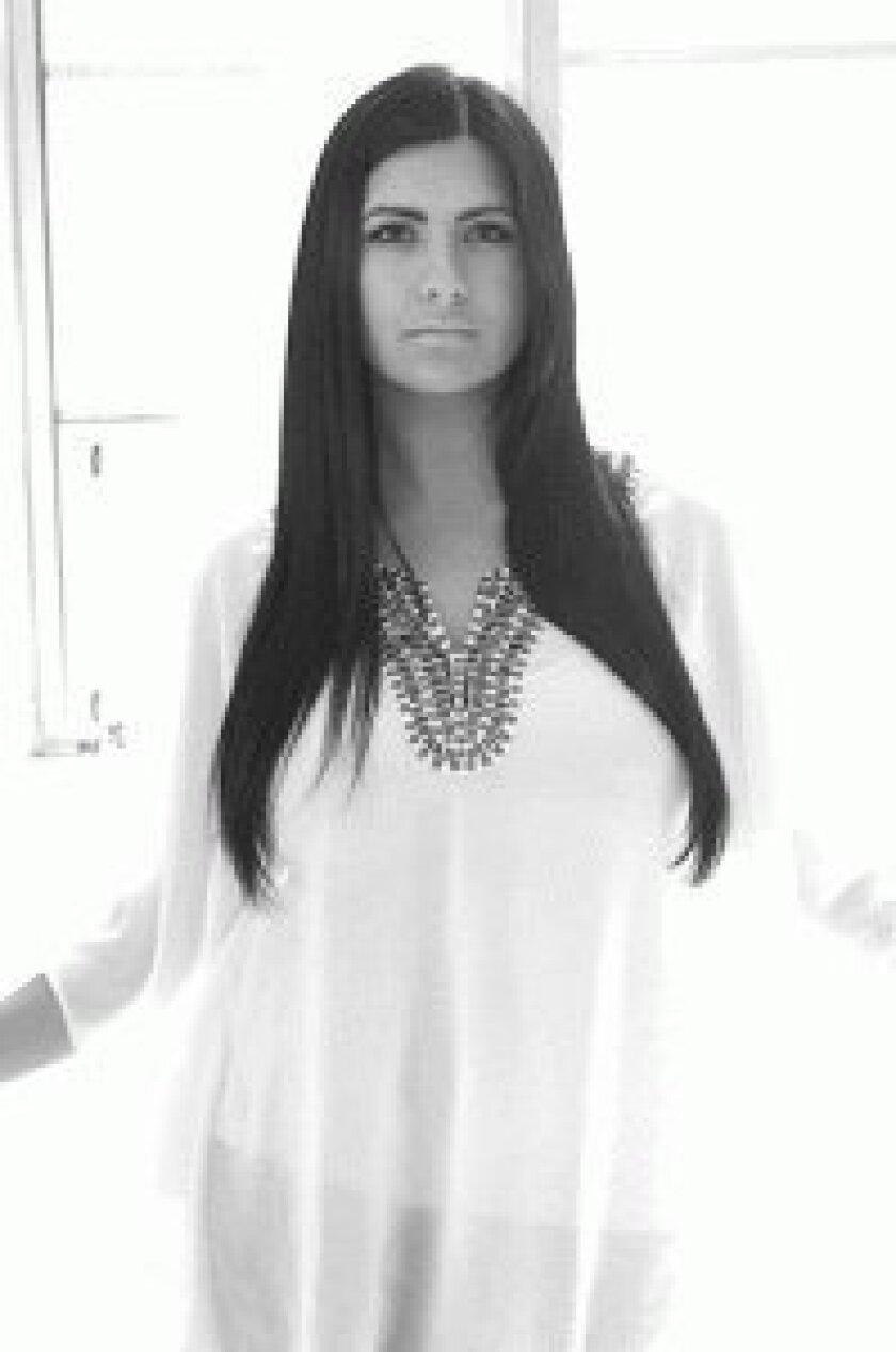 Contestant Natasha Crnjac of La Jolla