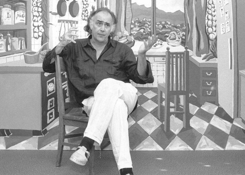 "August Coppola at San Francisco State in 1988. Three years later, instead of leading a groundbreaking for a planned addition to the campus' creative arts complex, he hosted a ""skybreaking"" because, he said: ""The idea is to look up, rather than down -- look up to the sky, the clouds, teach young people to dream."""