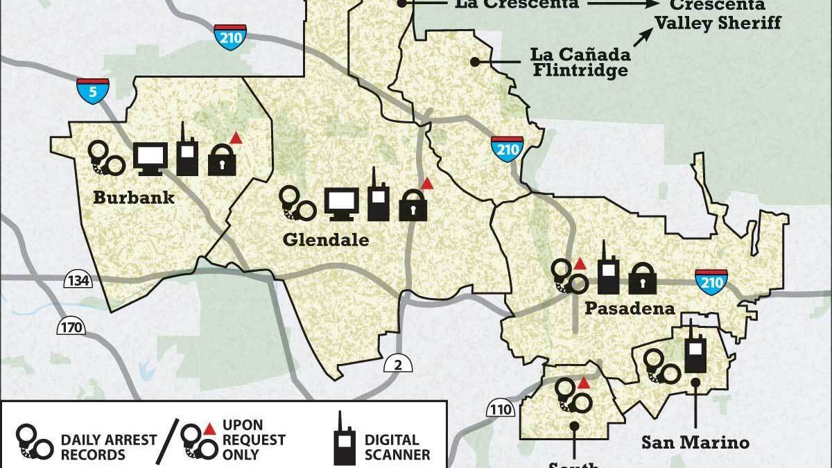Burbank, Glendale police radio systems block public access