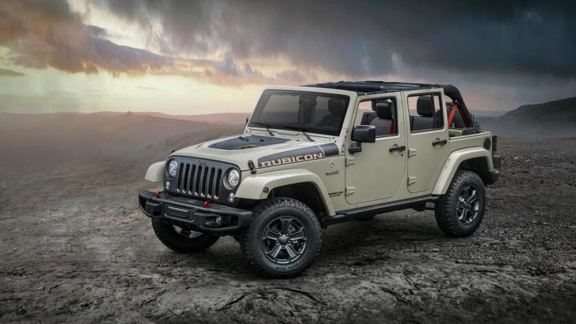 Jeep Wrangler Rubicon Recon 2017.