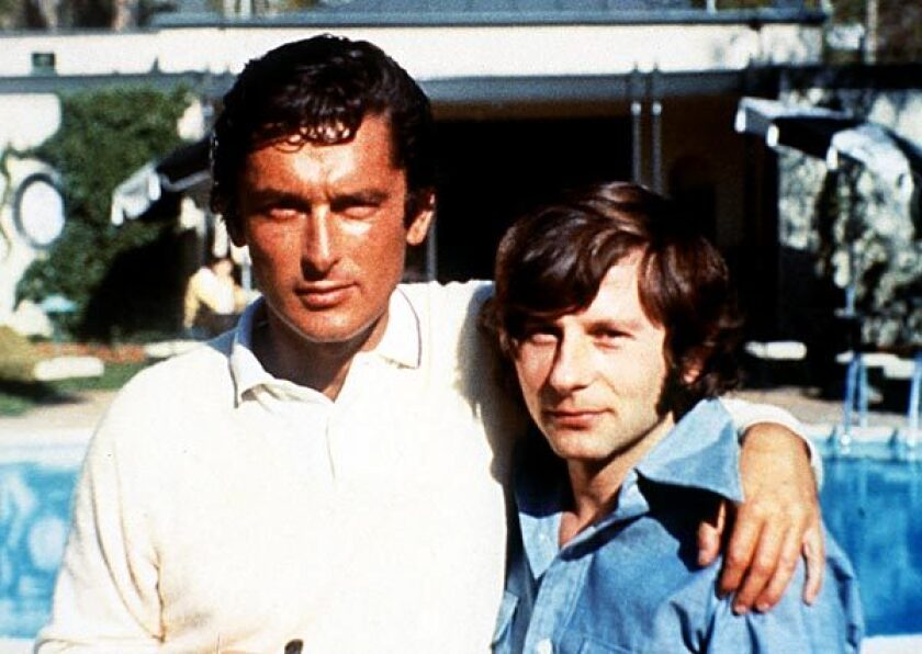 """Robert Evans, left, and Roman Polanski in the documentary """"The Kid Stays in the Picture."""""""